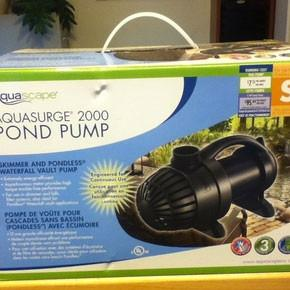 AquaSurge 2000 Pump