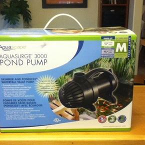 AquaSurge 3000 Pump