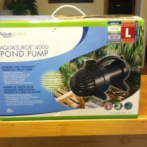 AquaSurge 4000 Pump