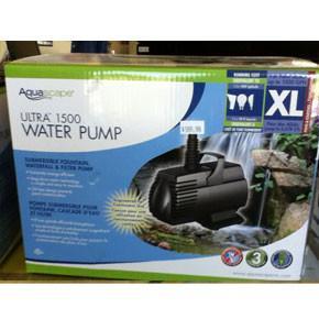 Ultra Pump 1500 G3 GPH