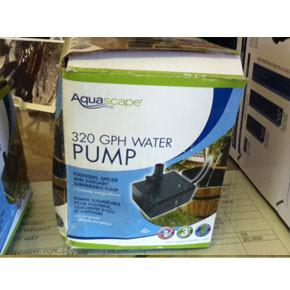 Statuary & Fountain Pump 320 GPH
