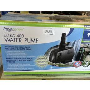 Ultra Pump 400 GPH