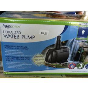 Ultra Pump 550 GPH