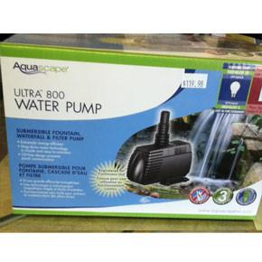 Ultra 800 GPH Pump