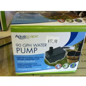 Statuary & Fountain Pump 90 GPH