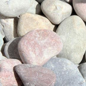 "Plum Creek Pebbles 1 1/2"" BULK"