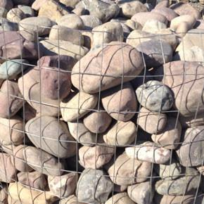 "Veneer Cobbles -Plum Creek 4"" to 6"" BULK"
