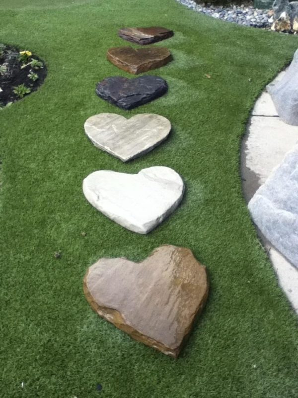 Heart Stepping Stones