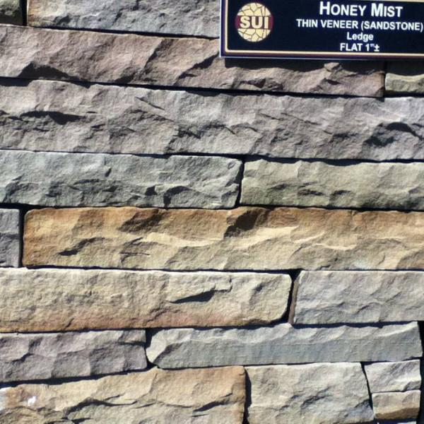 Pieces- Honey Mist-Real Stone