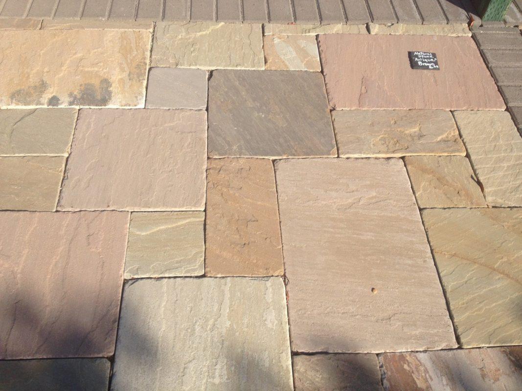 Antique Brown Versaille Pattern