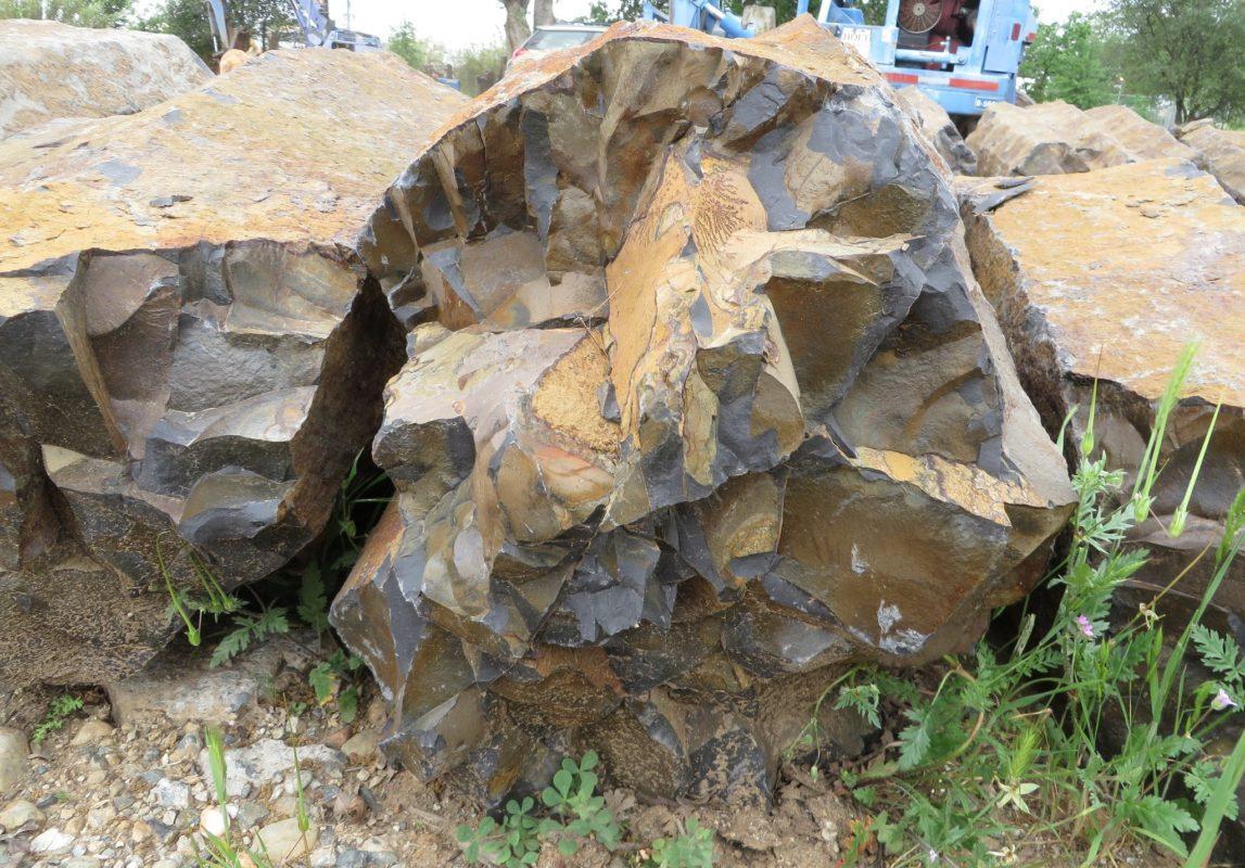Columns Bedrock Basalt Features