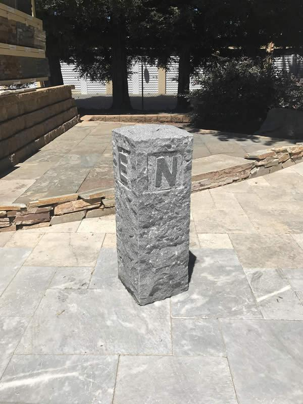 Granite Directional Post
