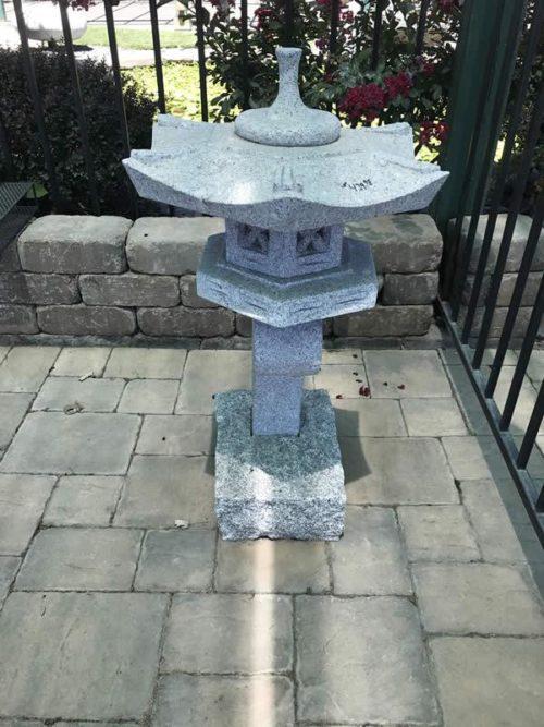 18 inch Granite Ran Kei Lantern