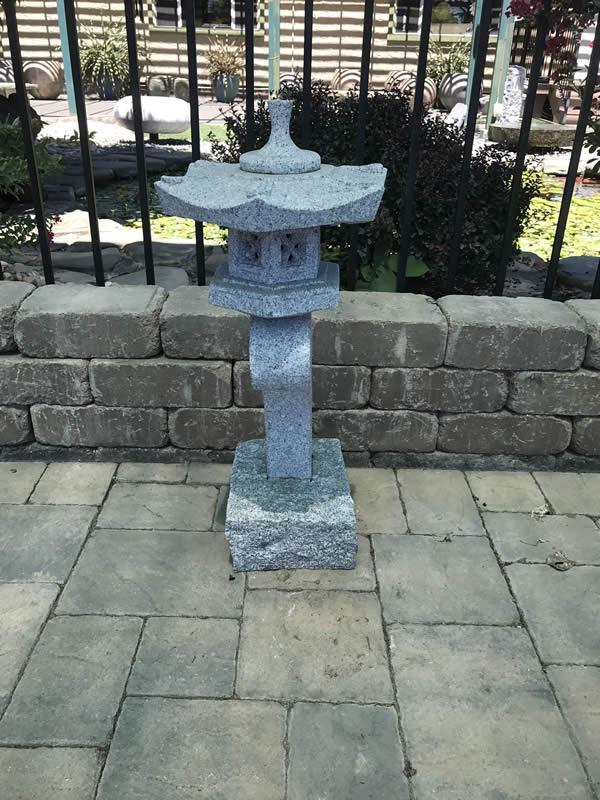 12 inch Granite Ran Kei Lantern