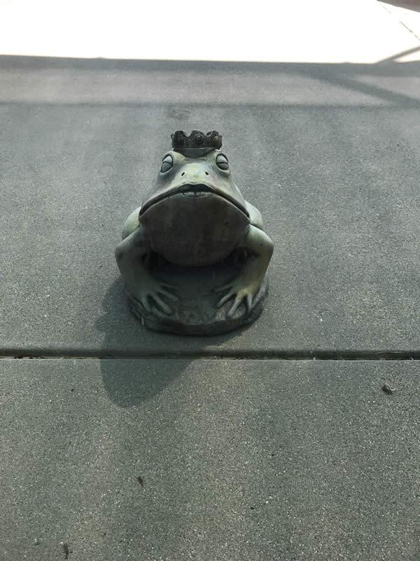 Frog Statue 2