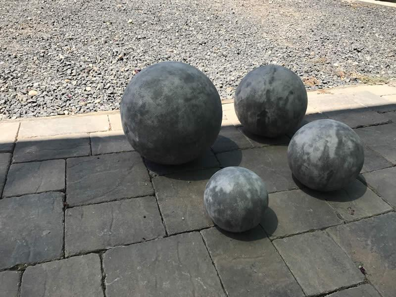 Spheres - set of 4