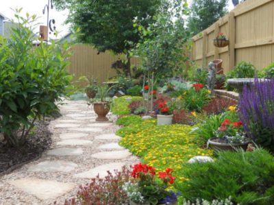 Sutherland Landscape xeriscape backyard inspiration for water saving landscaping