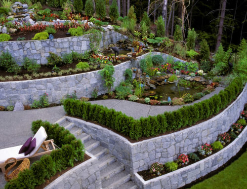 When do most homeowners opt to install a retaining wall?