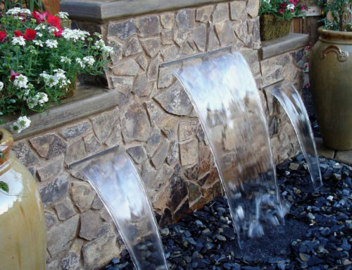 Pondless Fountains and Waterfalls: All the beauty, far less excavation