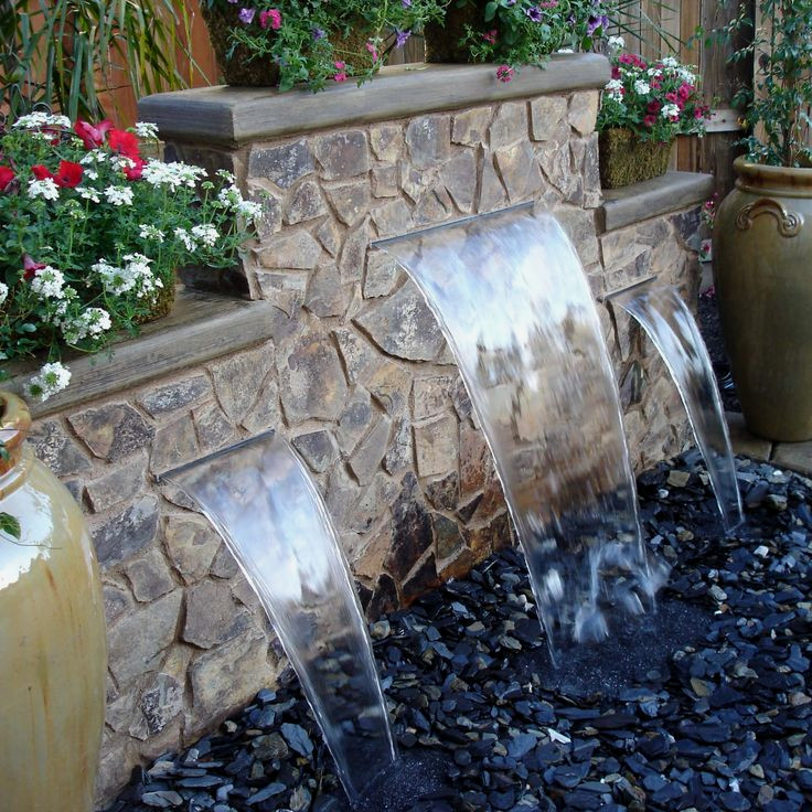 Pondless Fountains And Waterfalls: All The Beauty, Far