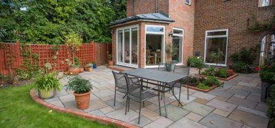 classic patio style by Sutherland Landscape