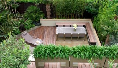 small terrace landscaping for small yard