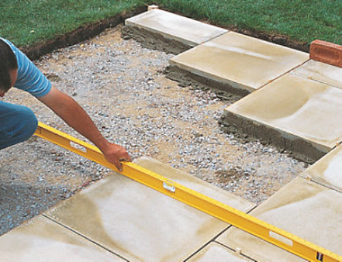 How To Lay a Patio – Video and Pictures!