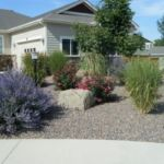 Sutherland Landscape water saving xeriscaper front yard for Northern California homes