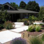 Sutherland Landscape backyard pavers and xeriscape inspiration photo