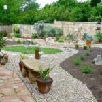 Sutherland Landscape backyard retaining walls and xeriscape water saving landscaping inspiration