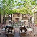 Sutherland Landscape backyard inspiration images for patio pavers and outdoor fireplace