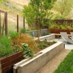 Retaining wall landscaping inspiration for xeriscape yards by Sutherland Landscape in Chico California