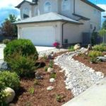 Sutherland Landscape xeriscape front yard water saving landscaping inspiration