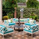 Great patio tile pattern by Sutherland Landscape