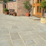 Courtyard pavers by Sutherland Landscape