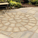 Patio paver pattern perfection by Sutherland Landscape