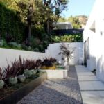 Retaining wall for fire safety by Sutherland Landscape