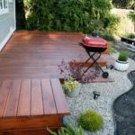 Lovely deck for small yard