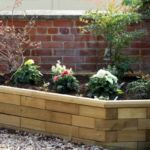 raised garden beds for small yard landscaping